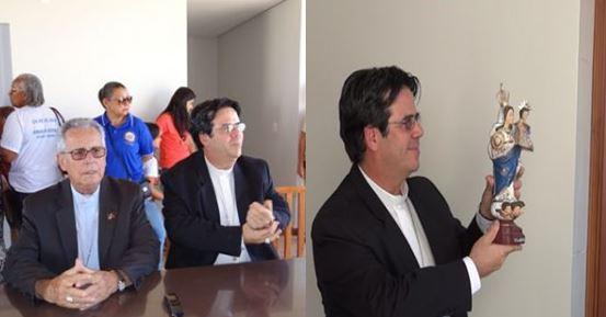 BONITA RECEPÇÃO MARCA CHEGADA DO NOVO BISPO COADJUTOR DE JUAZEIRO 14.05.16