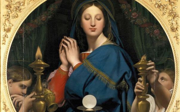 Nossa Senhora, a Mãe da Eucaristia 26.05.16.png