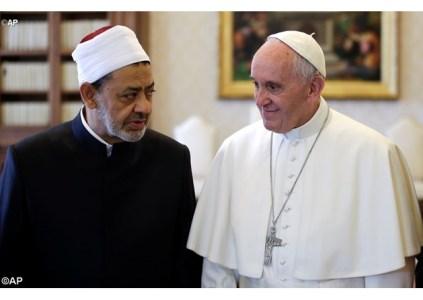 O Papa e o Grão Imame compromisso com a paz e a não-violência 24.05.16