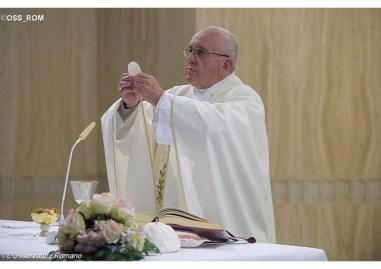 Papa cristão ajuda sempre com alegria, sem fazer cara feia 31.05.16