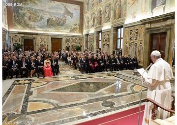 Papa exorta Fundação Centesimus Annus a combater pobreza e desemprego juvenil 14.05.16