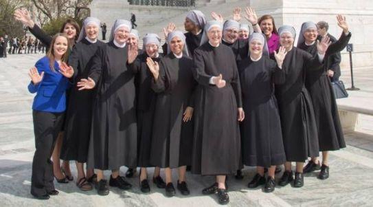 Religiosas derrotam mandato abortista de Obama na Suprema Corte 18.05.16