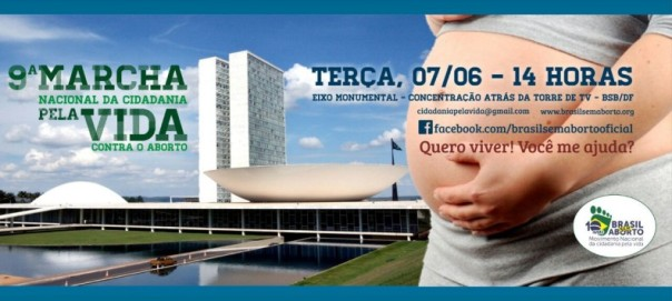 Marcha Nacional pela Vida pede aprovação do Estatuto do Nascituro 07.06.16