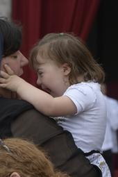 O Papa denunciou a mentalidade social que marginaliza doentes e deficientes_Com o remédio do sorriso 14.06.16