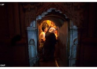 Papa a Igrejas orientais restaurar para eliminar crostas 16.06.16