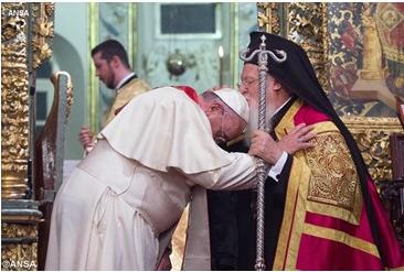 Papa sofrimento humano deve unir os cristãos 28.06.16