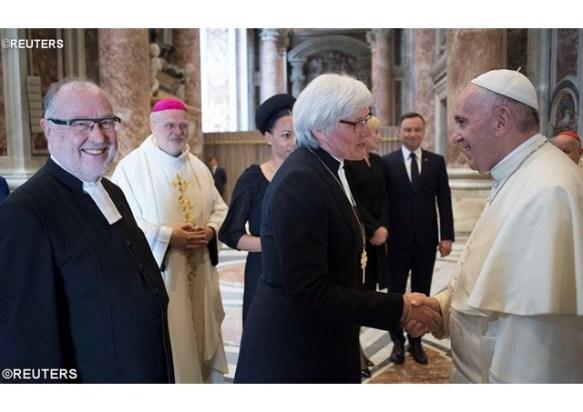 Papa_ cristãos devem combater juntos a desertificação espiritual 10.06.16
