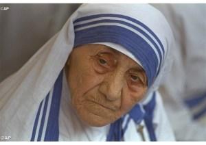 Retrato de Madre Teresa em 1993 - AP