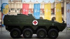 Um tanque em Cracóvia. Foto: Jeffrey Bruno (ACI Prensa)