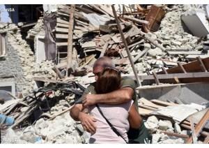 Destruição em Amatrice - ANSA