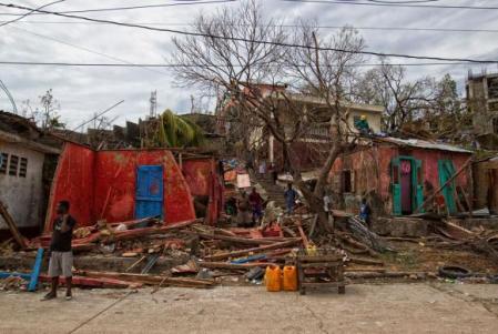 Área devastada no Haiti, após a passagem do furacão Matthew - Foto Logan Abassi/MinustahFoto Logan Abassi/Minustah