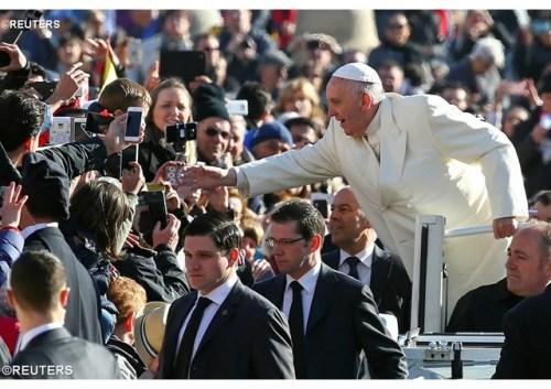 Papa na Audiência Geral de 16 de novembro de 2016 - REUTERS