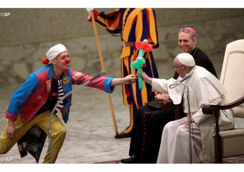 Papa Francisco durante a Audiência Geral - AP