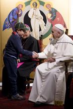 O Pontífice na paróquia de Santa Maria em Setteville de Guidonia_Pecadores mas testemunhas 16.01.17.jpg
