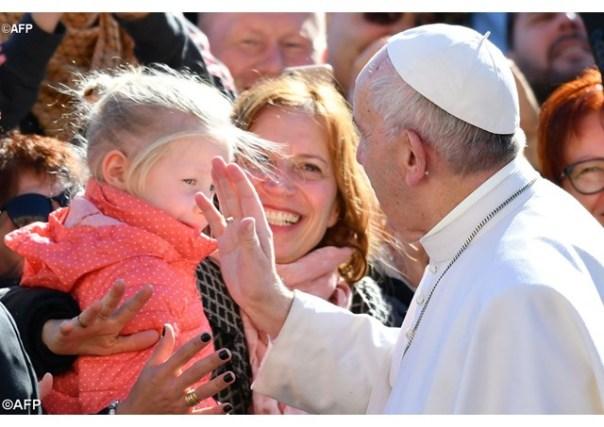 Papa durante a Audiência Geral - AFP