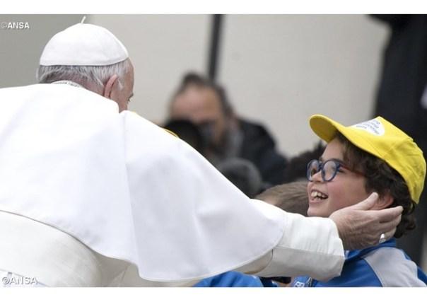 Papa na comunidade não existem fiéis da série A e série B_22.03.17