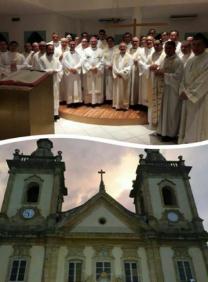 Bispo de Juazeiro celebra missa na cidade de Aparecida 12.07.17.png