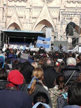 Argentinos clamam pela vida e renovam consagração à Virgem de Luján C 10.07.18